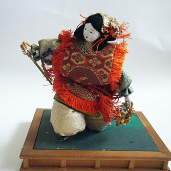 Unusual Japanese doll - Dolls