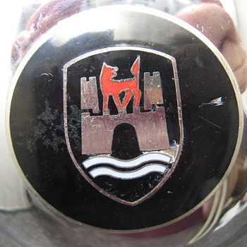 Set of 4 Vintage Hubcaps w/Castle Red Fox? River Need Help Identifyin - Classic Cars