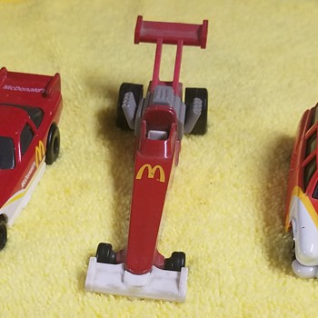 McDonald's Matchboxes - Model Cars
