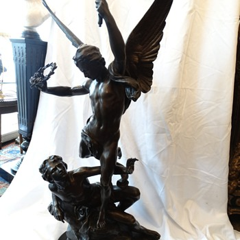 Tiffany & Co. Bronze Statue - Fine Art