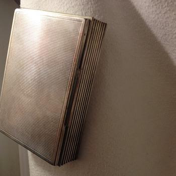 silver wooden box  - Silver