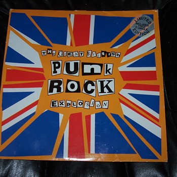 THE GREAT BRITISH PUNK ROCK EXPLOSION DOJO LP 122 - Records