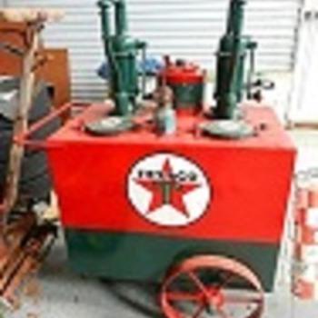 Texaco Lubester cart... - Petroliana