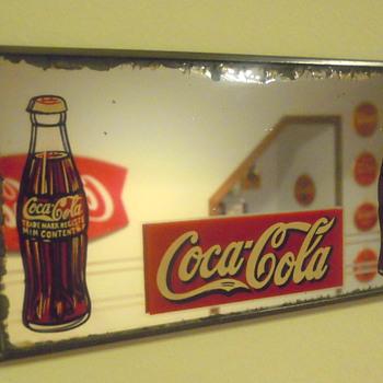 1930's Coca-Cola Mirror - Coca-Cola