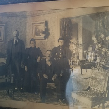 Antique  chalk pictures - Photographs