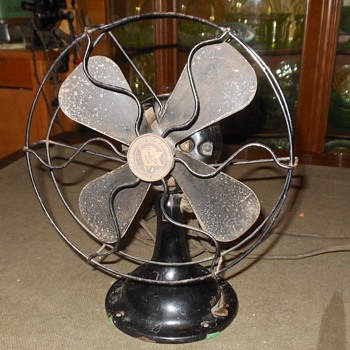 Robbins & Myers 3504 Electric Fan 1920s AC and DC - Tools and Hardware