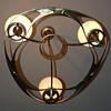 Art Nouveau / Jugendstil Gas Chandelier