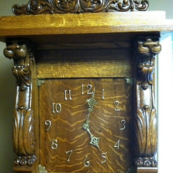 Antique Grandfather Clock - Clocks
