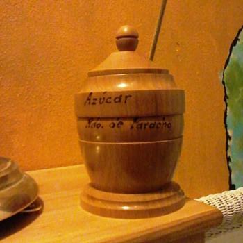 Wooden sugar bowl? - Kitchen