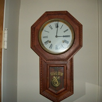 8 Day Regulator A  clock
