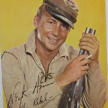 Post Card from TV's Nick Adams - Photographs