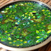 CHINESE JAPANESE CLOISONNE PIN BOWL (2)