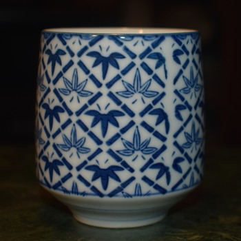 5 Japanese Cups - Asian
