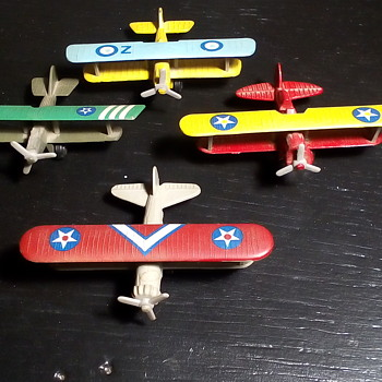 Diecast Bi-Plane Collection - Toys