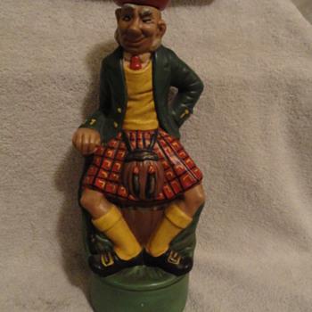 September 1st 1968 Scottish Liquor or Wine Bottle  - Bottles