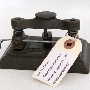 1903 Eclipse Hole Punch - Office