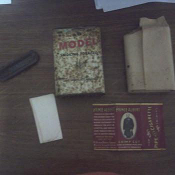 1907 MODEL tobacco can - Tobacciana