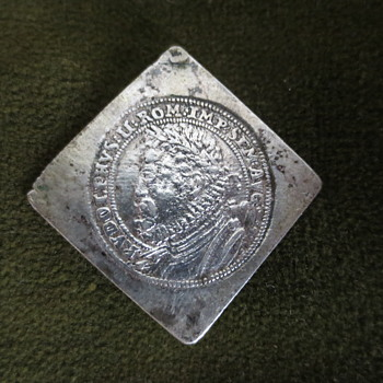 """1"""" square coin or coin print?"""