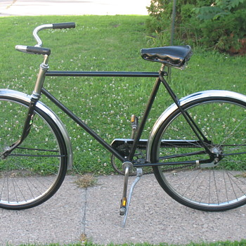 Montgomery Ward's Hawthorn Coaster Bicycle Restored