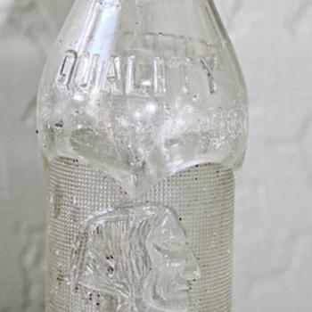 1925 Butte MT Coca Cola Bottle