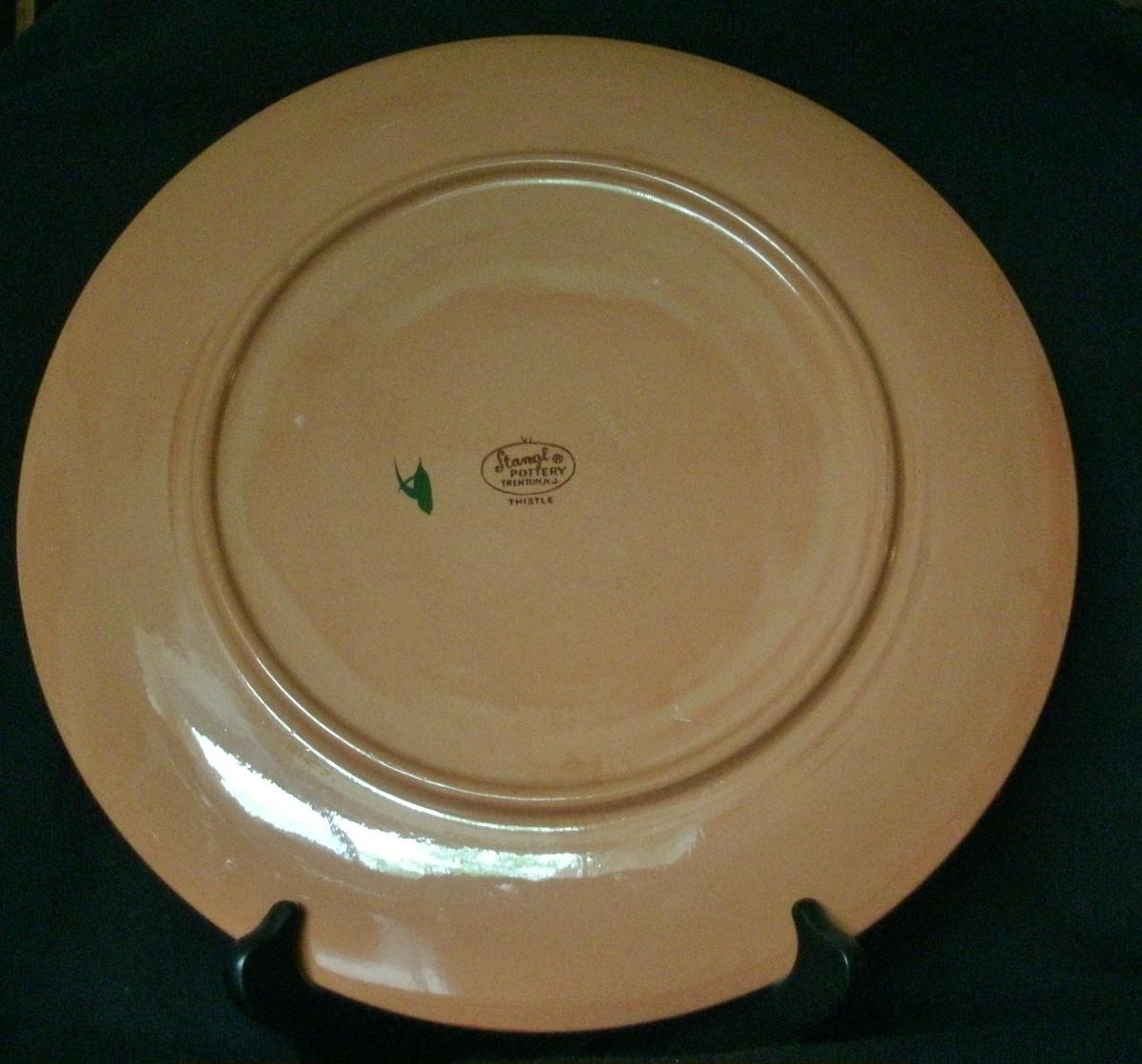 Stangl Pottery 12 Platter Thistle