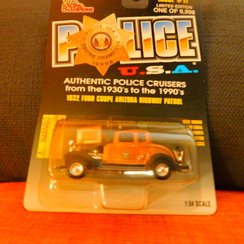 Model Police Car Collection - Model Cars