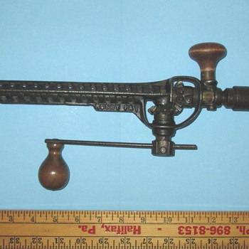 Rusby Patent Extendable Drill Brace - Tools and Hardware