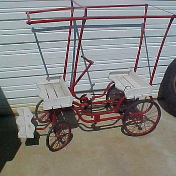 gym dandy pedal car  - Model Cars
