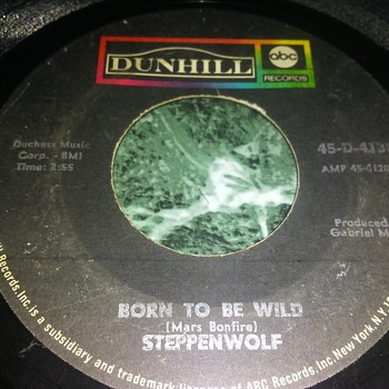 Steppenwolf...On 45 RPM Vinyl - Records