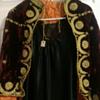 Palestinian wedding/opera cape circa 1900-1920