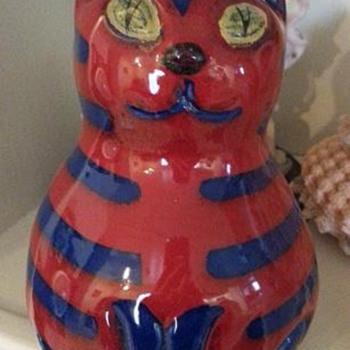 Ceramic Cat - Animals