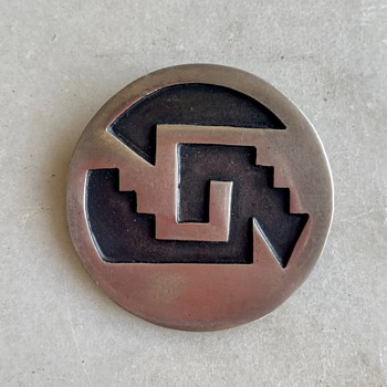 1940's-50's Mexico sterling brooch - Fine Jewelry