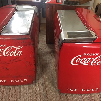 westinghouse we-6 coke machines  - Coca-Cola