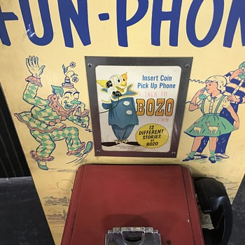 The bozo fun - phone made by the Bally company  - Telephones