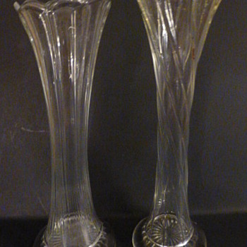 US Glass and Dugan swung vases! - Art Glass