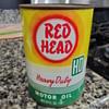 Red Head motor oil