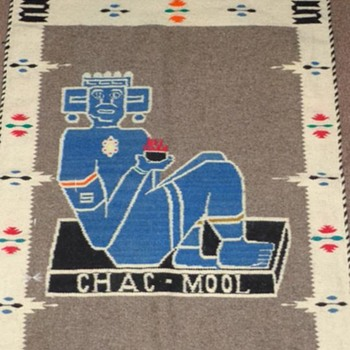 Chac-Mool wall tapestry