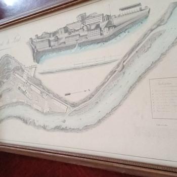 1863 copy map - Paper