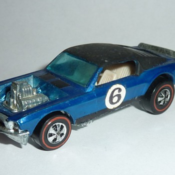 "Hot Wheels ""Boss Hoss"" Blue with Black Roof"