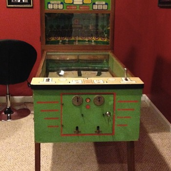 chicago coin united's american national pitch and bat Pinball machine - Games