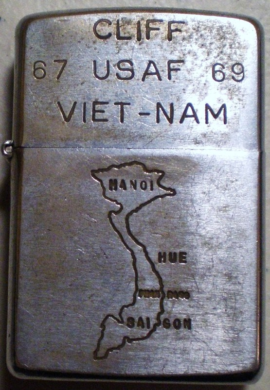 Vintage Military Zippo Lighters