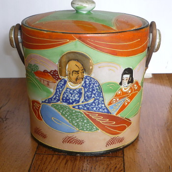 Japanese Ginger/Biscuit Jar/Tin? - Asian