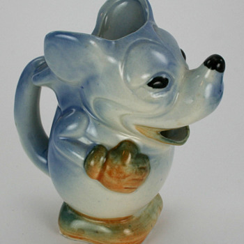 1930's Mickey Mouse Pitcher