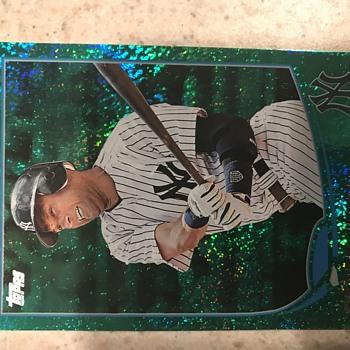 Derek Jeter Emerald - Baseball