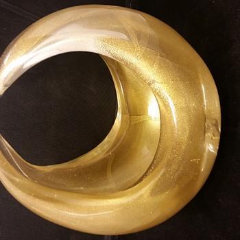 blown art glass gold leaf - Art Glass