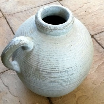 Pottery Ringed pale green? - Pottery