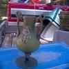 Antique Art Glass Signed Glass Vase,Italy?France?USA?