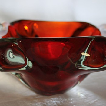 Glass Bowl probably and maybe not Soga Japan - Art Glass