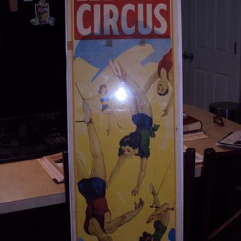 Lee Bros Circus poster
