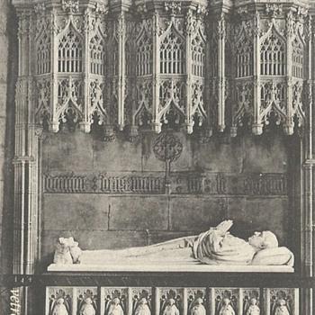 ARCHBISHOP THOMSON'S MONUMENT. YORK MINSTER - Postcards